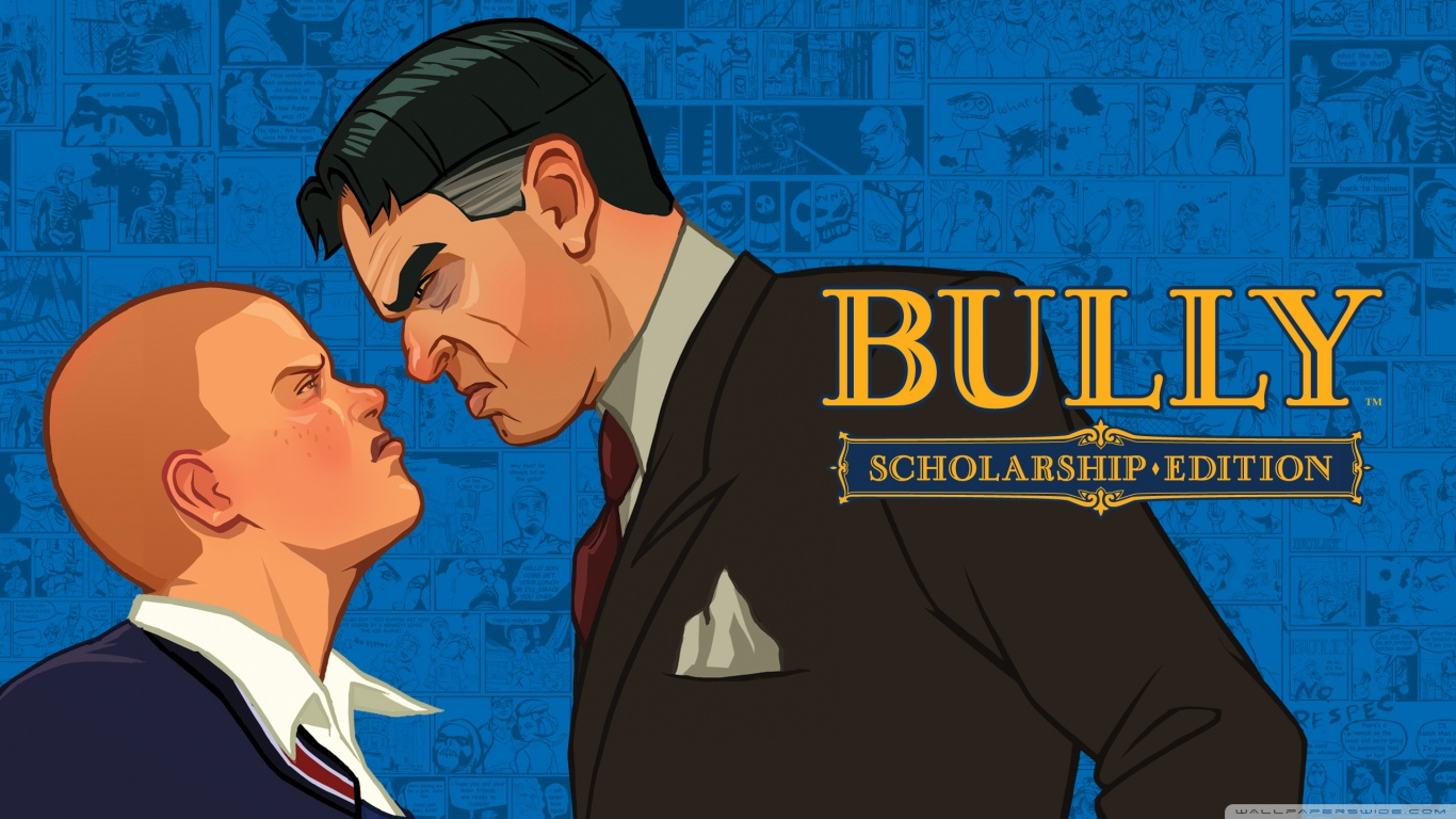 Bully Scholarship Edition 4K HD Desktop Wallpaper for 4K Ultra 1366x768