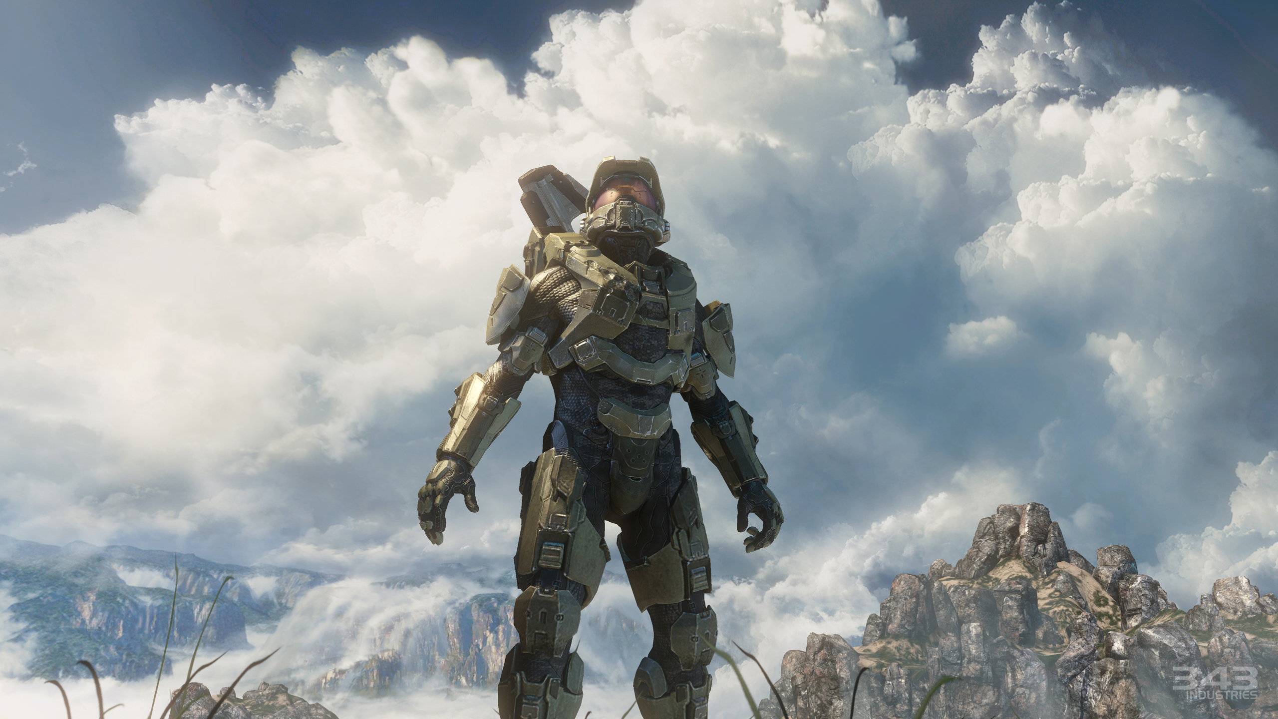 15 Halo 4 HD Wallpapers Background Images 2560x1440