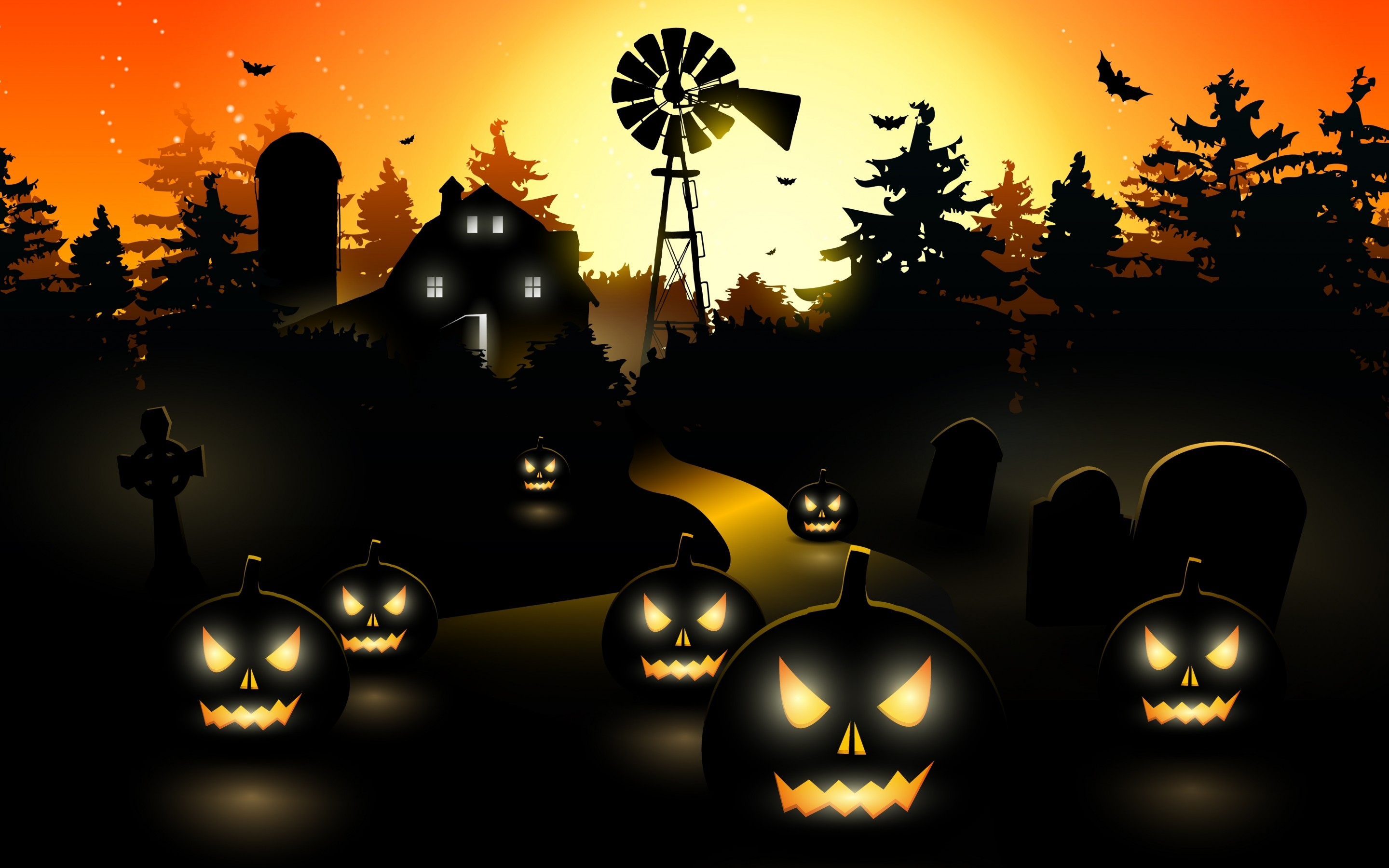 Wallpapers Collection Halloween Wallpapers 2880x1800