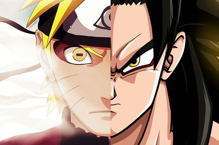 Goku Wallpaper Naruto vs goku 728x481
