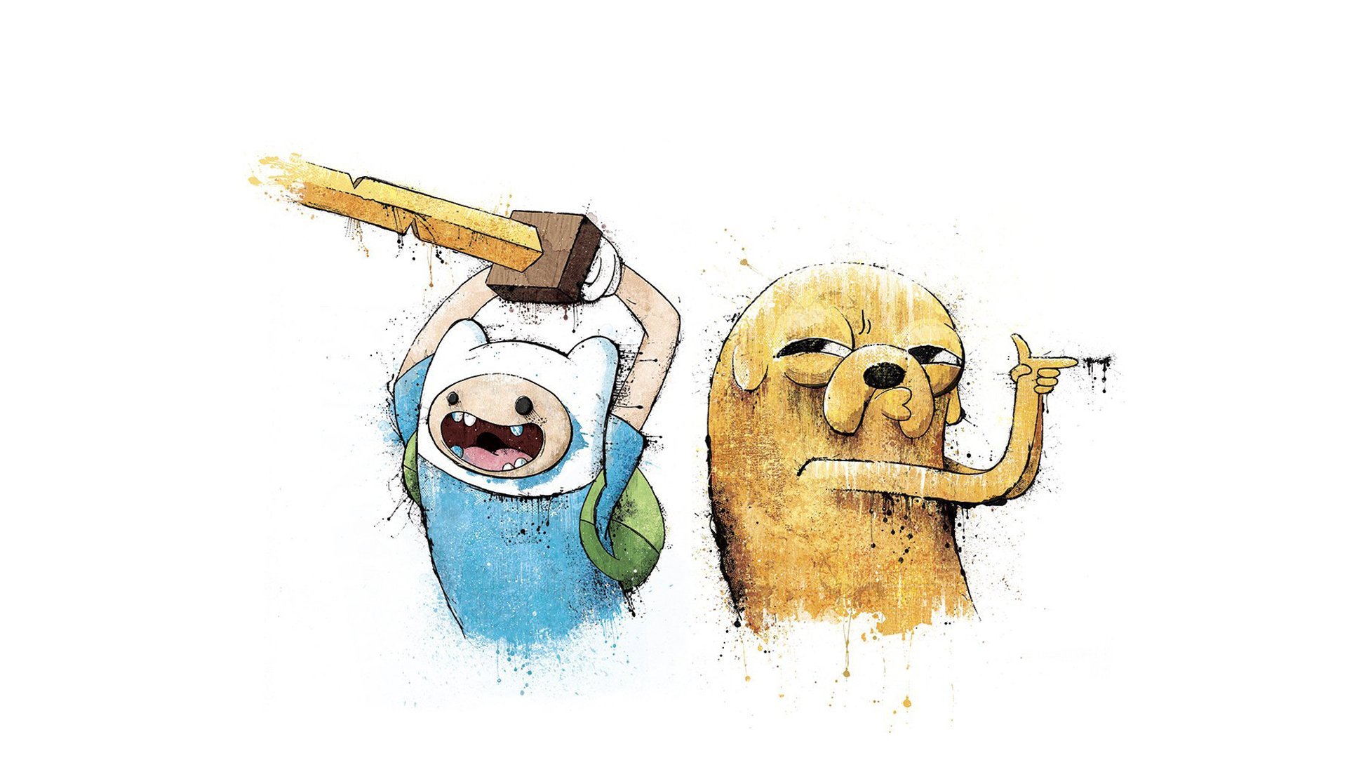 Download Wallpaper 1920x1080 Adventure time Finn and jake 1920x1080