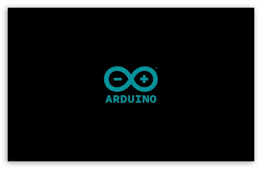 ARDUINO LOGO BLACK HD wallpaper for Wide 1610 53 Widescreen WHXGA 510x330