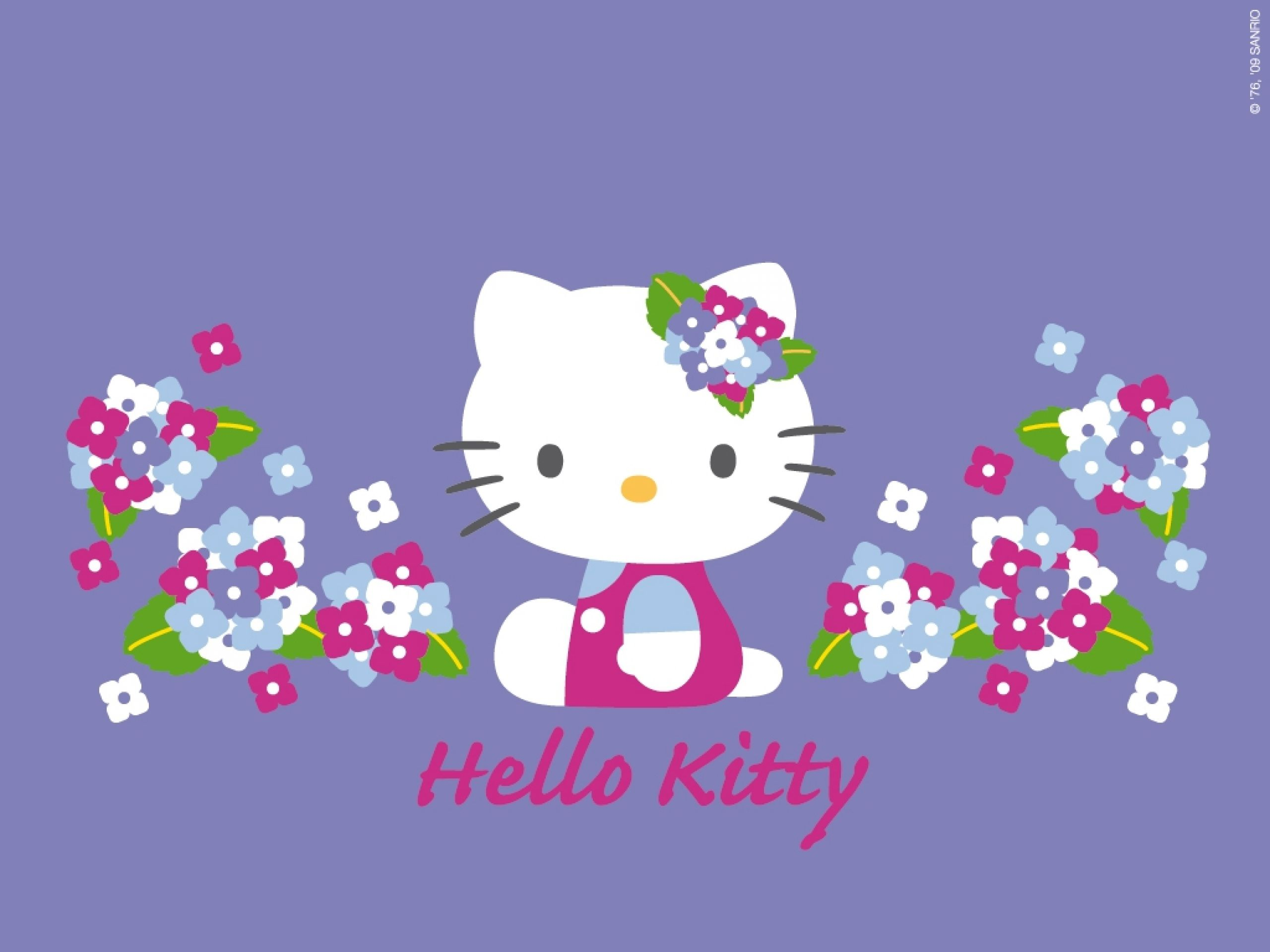 Purple Hello Kitty Desktop Wallpapers   Top Purple Hello 2560x1920