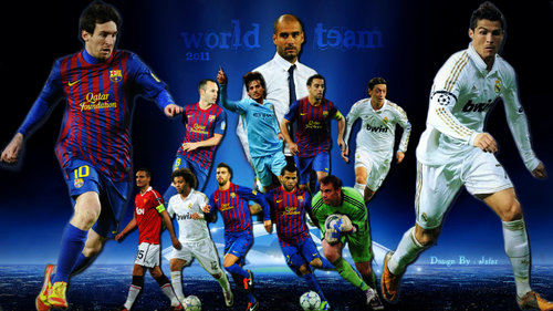 Messi And Ronaldo Wallpaper 2013 Neymar ronaldo messi wallpaper 500x281