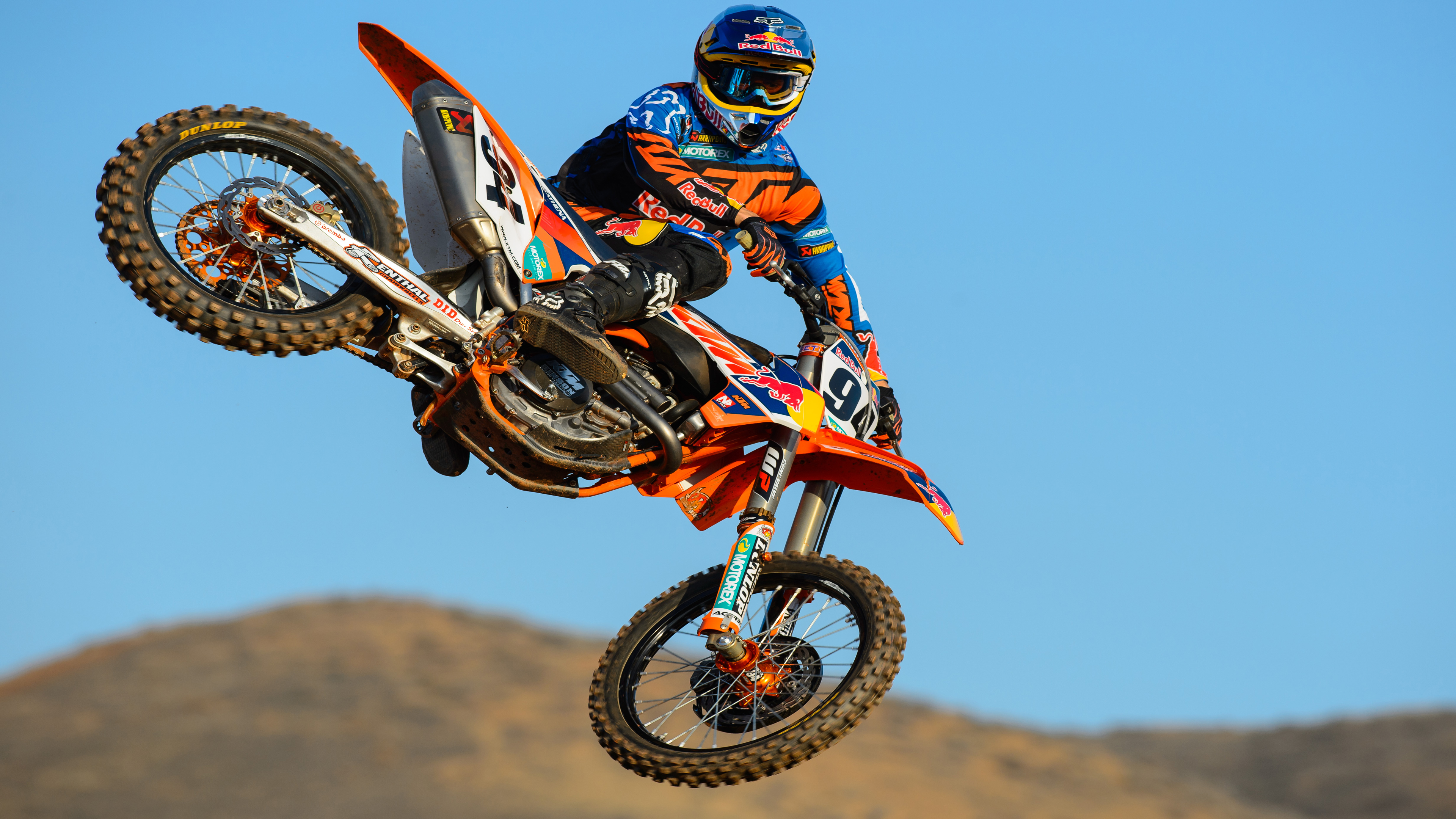 Motocross Ktm HD Wallpapers 3840x2160