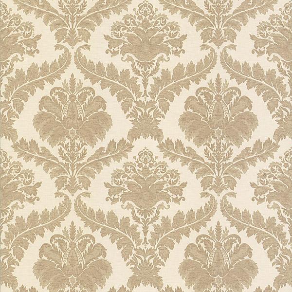 981 63727 Beige Damask   Arabella   Mirage Wallpaper 600x600