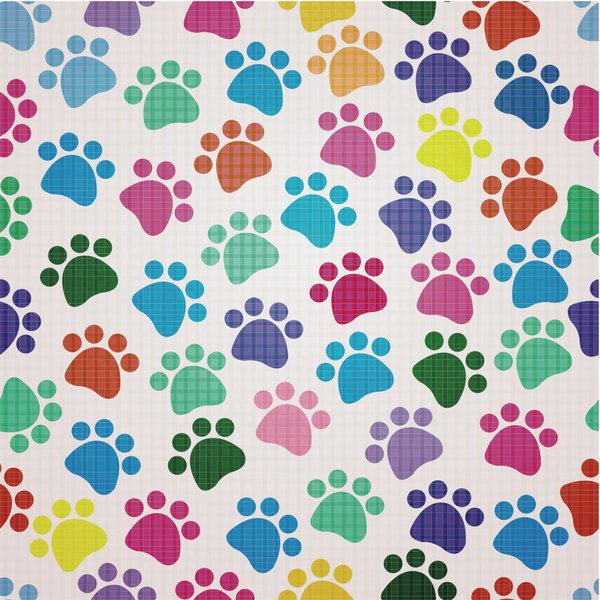 Puppy Prints Custom Wallpaper Mural Print By Jw Shutterstock 600x600