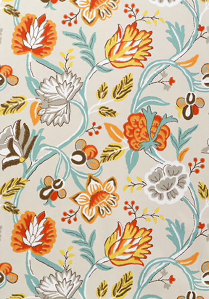 Thibaut   Jubilee   Thibaut Cayman T4907   Select Wallpaper 420x600