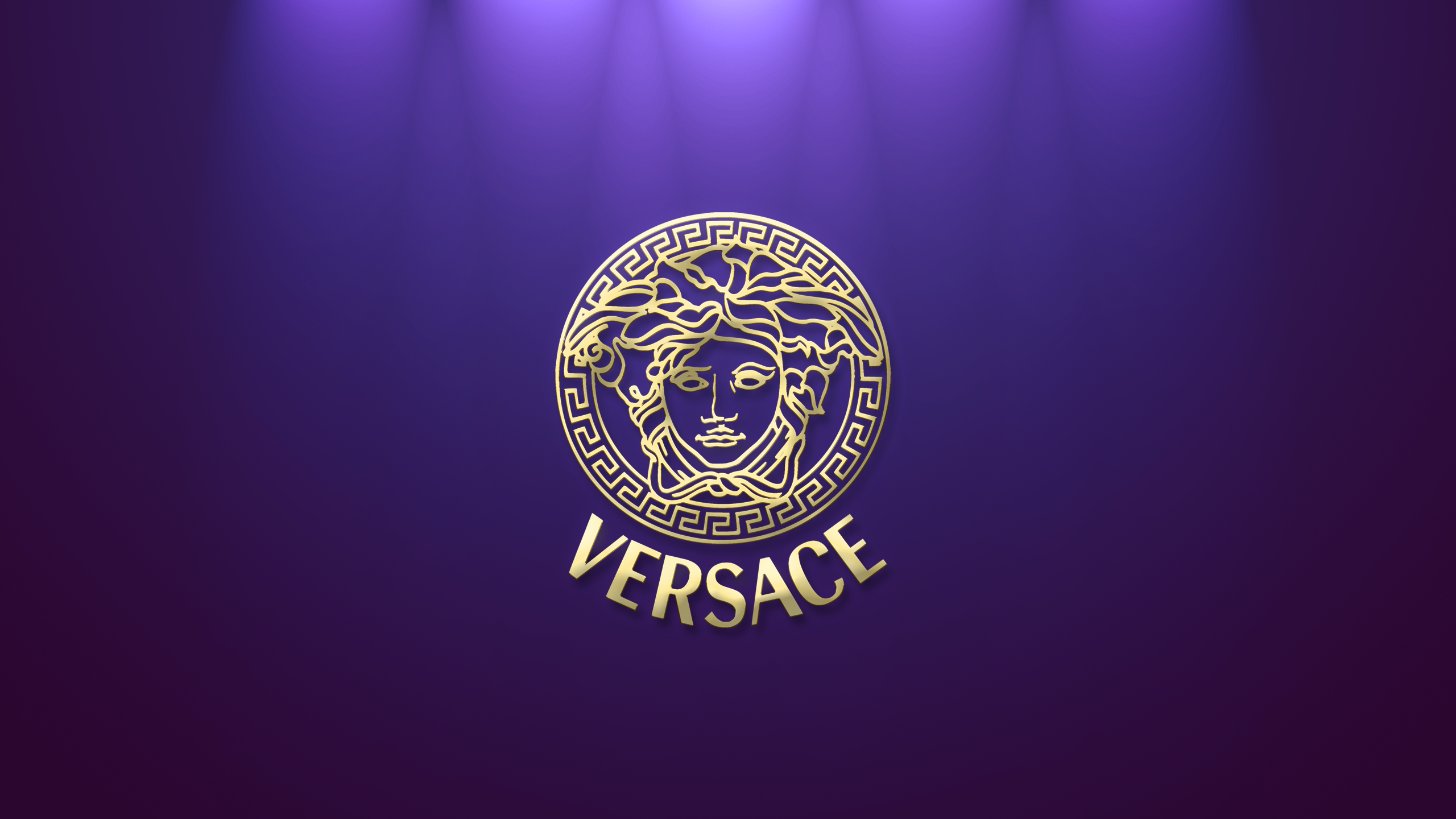 Versace Hd Logo Auto Design Tech 2560x1440