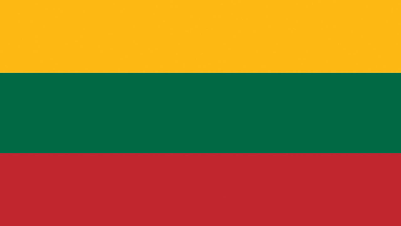 Images Lithuania Flag Stripes 1280x720 1280x720