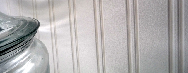 noticed that Martha Stewart has a paintable beadboard wall paper at 642x250