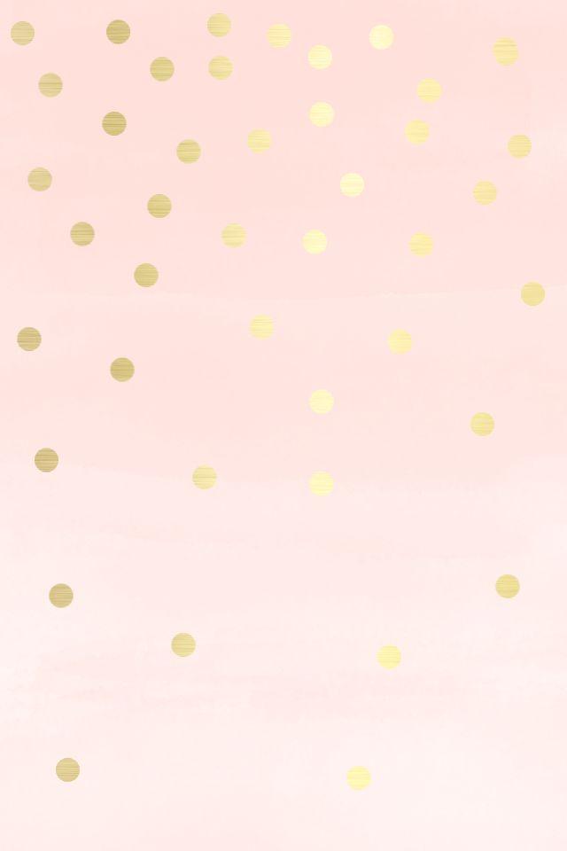 Blush Pink And Gold Wallpaper Wallpapersafari