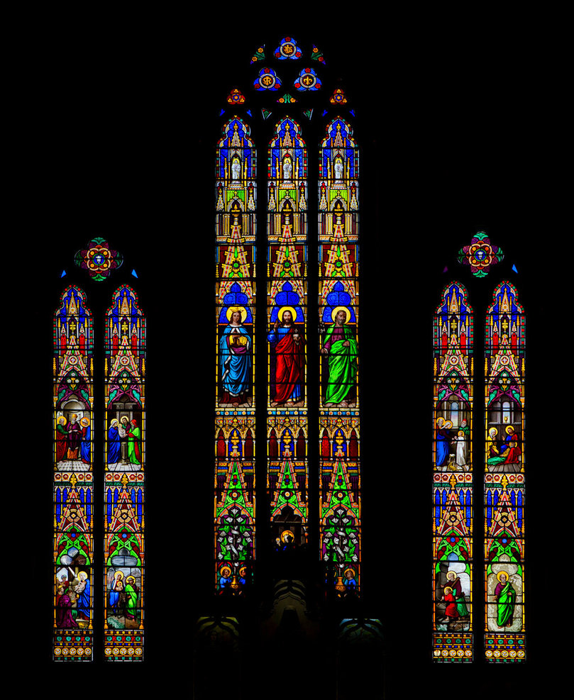 Stained Glass Windows by TomFawls 809x987