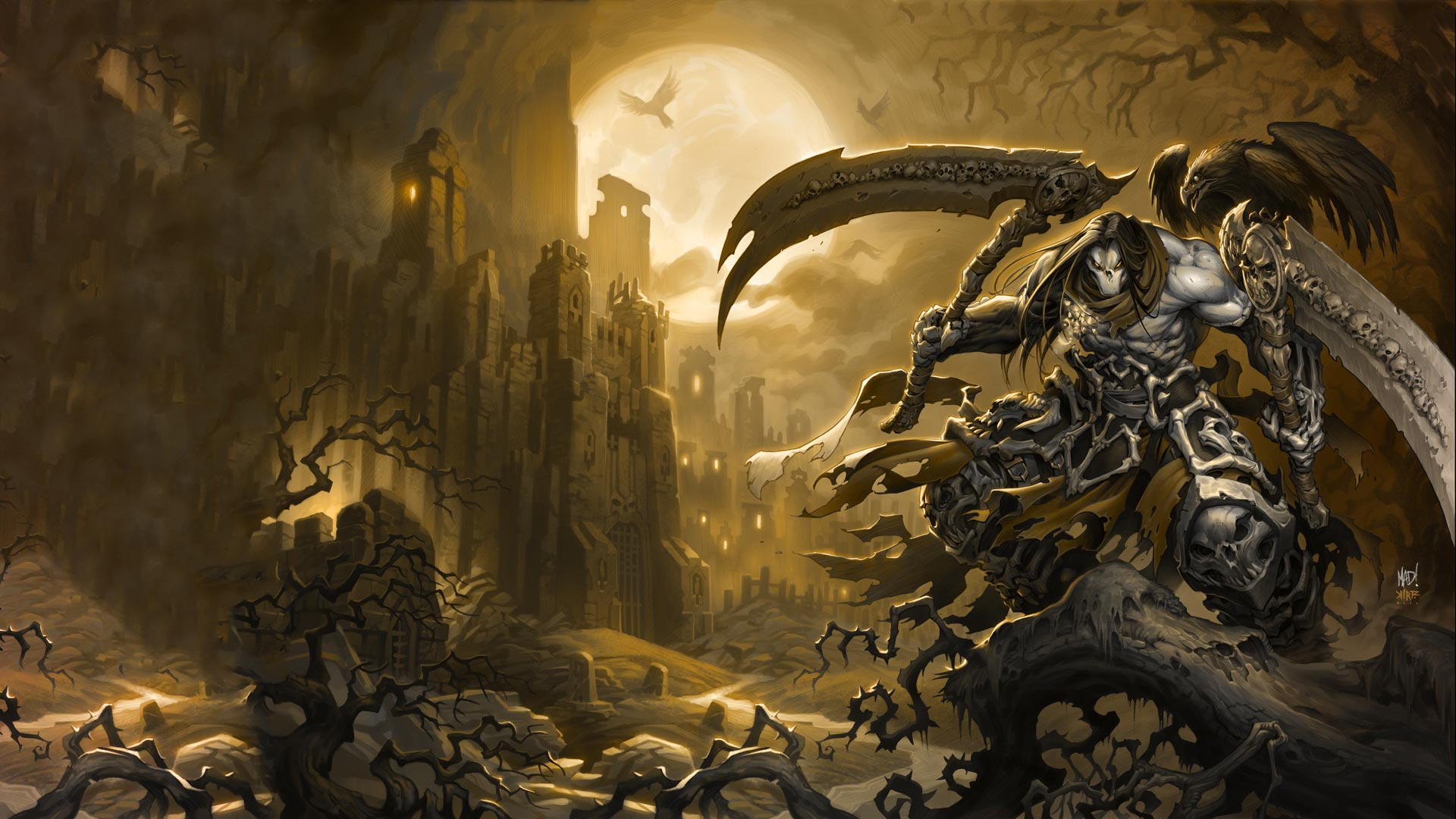 Darksiders 2 HD Wallpaper 19201080 1920x1080