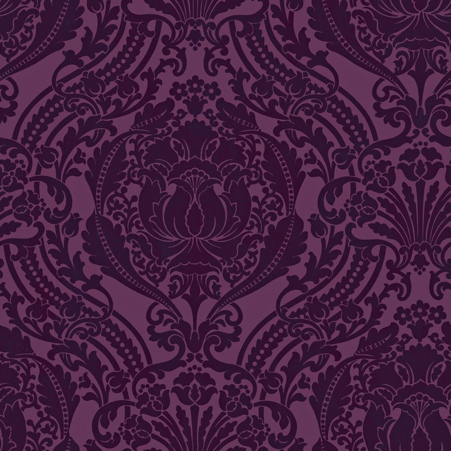 Damask Purple Strippable Non Woven Prepasted Wallpaper Lowes Canada 900x900