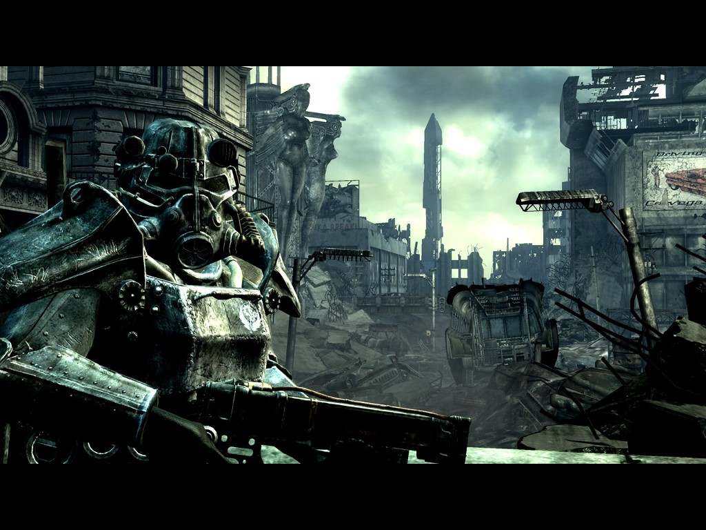 Fallout 3 Wallpaper Brotherhood Of Steel 4934 Hd Wallpapers in Games 1024x768
