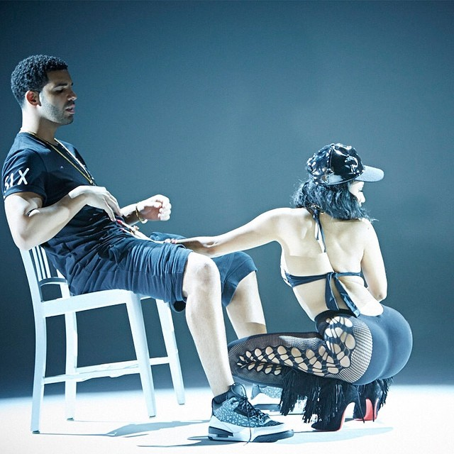 tv Behind the Scenes Nicki Minaj Drake Anaconda Photos 640x640