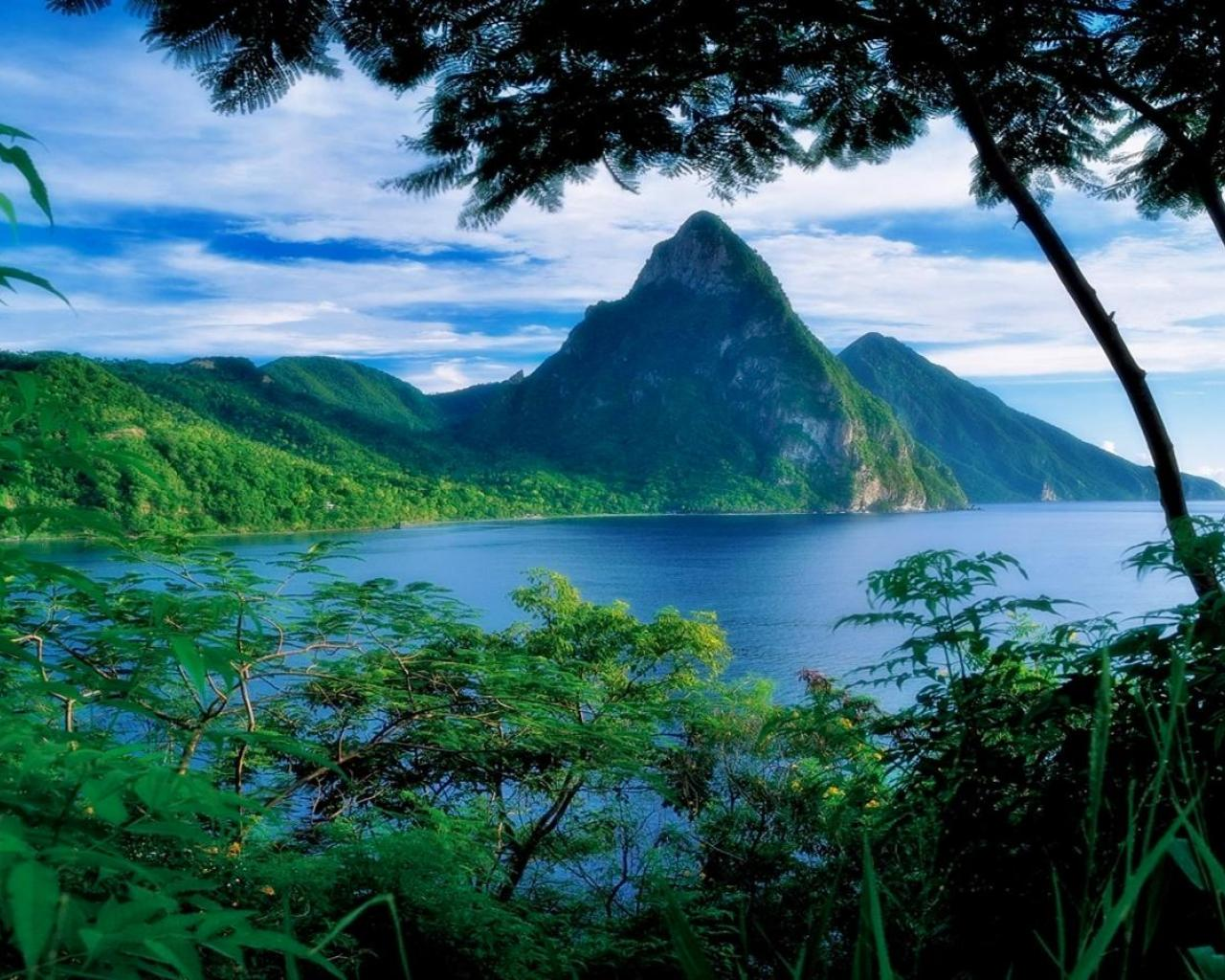 saint lucia   154500   High Quality and Resolution Wallpapers 1280x1024