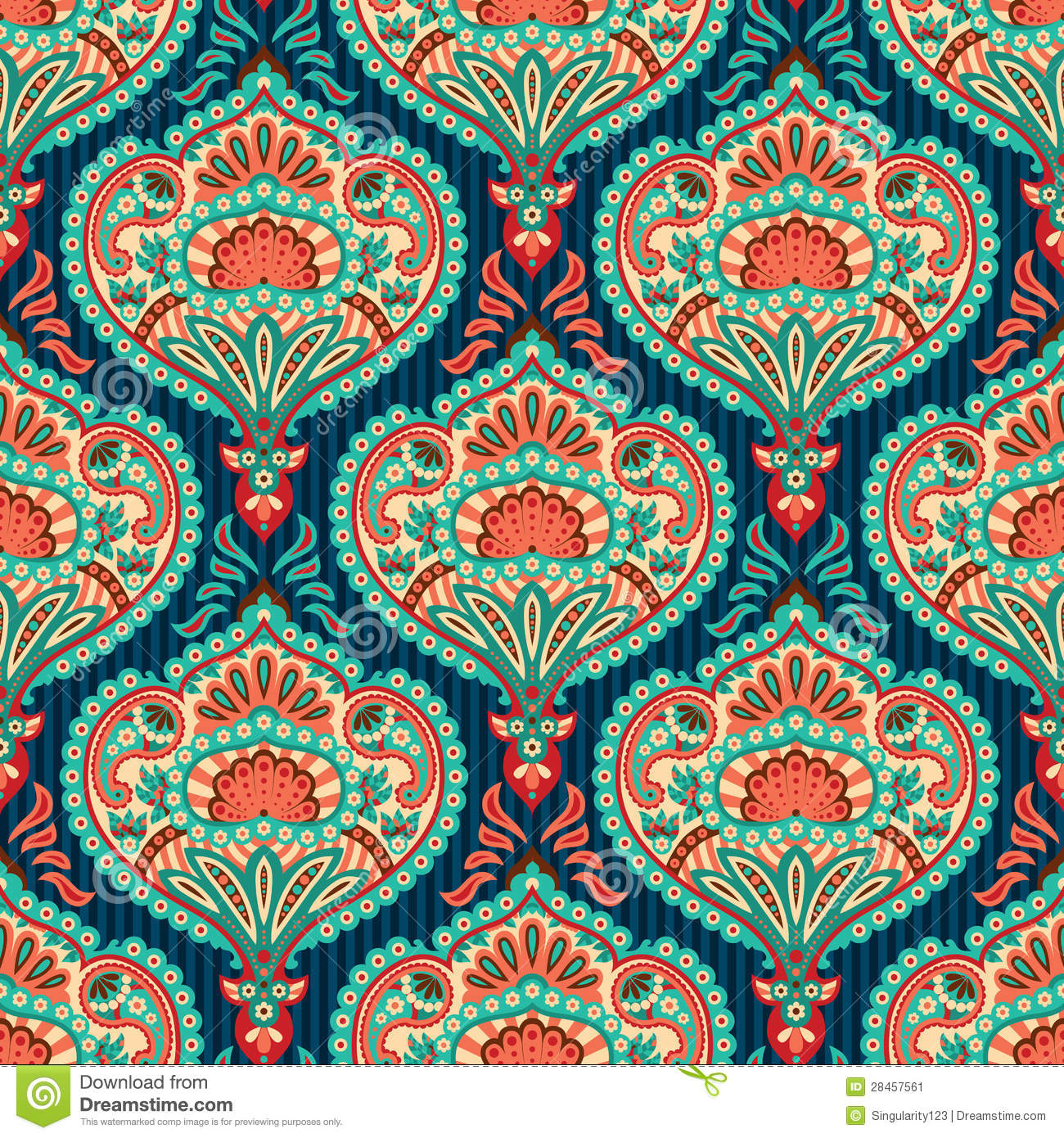 Indie Pattern Tumblr Paisley pattern wallpaper 1300x1390
