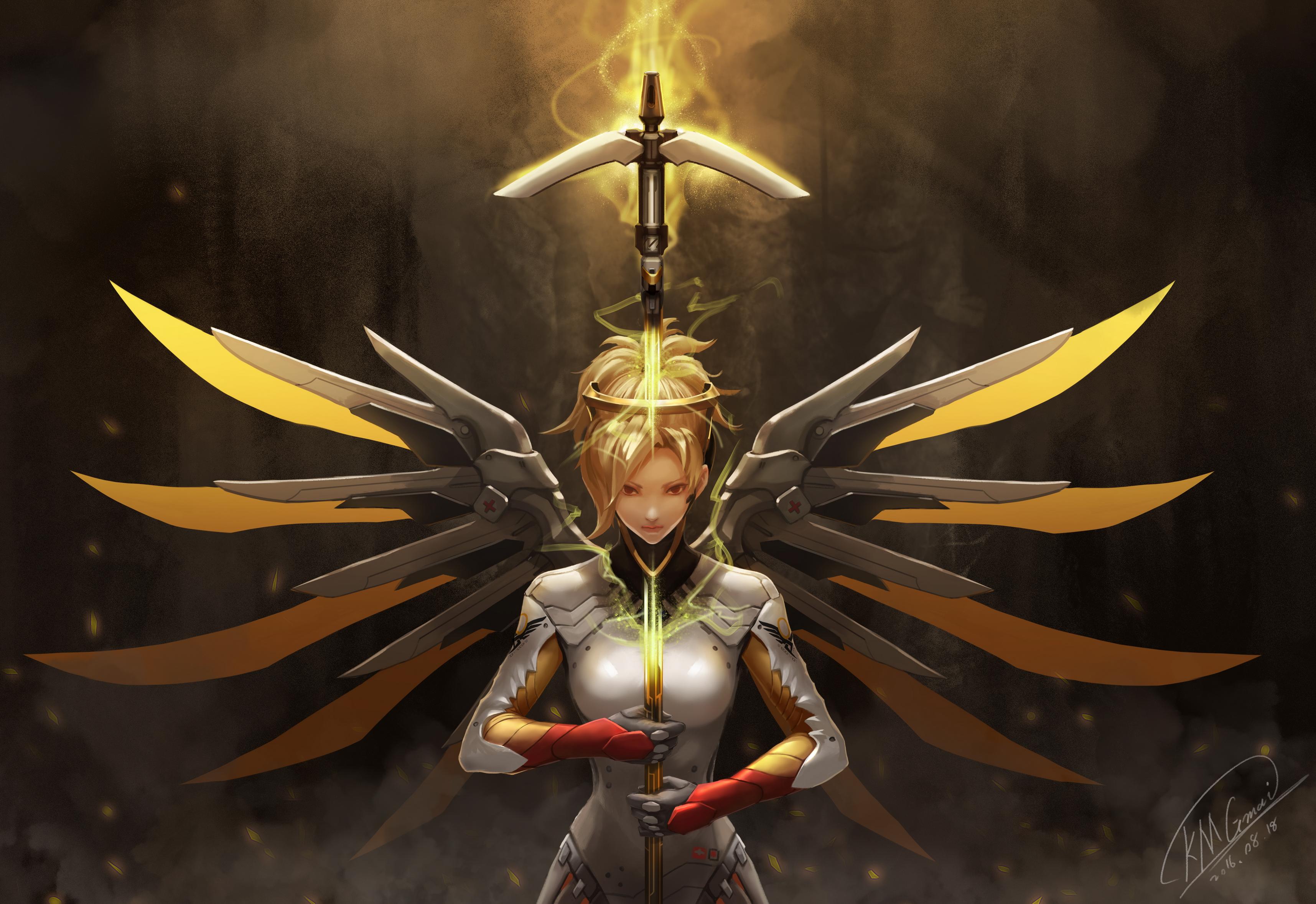Ceadeus Mercy HD Wallpaper Background Image 3431x2356 ID 3431x2356