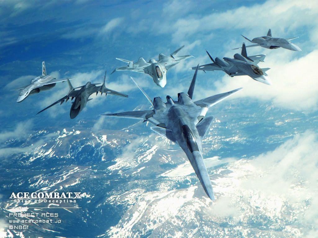 Ace Combat Wallpapers 1024x768