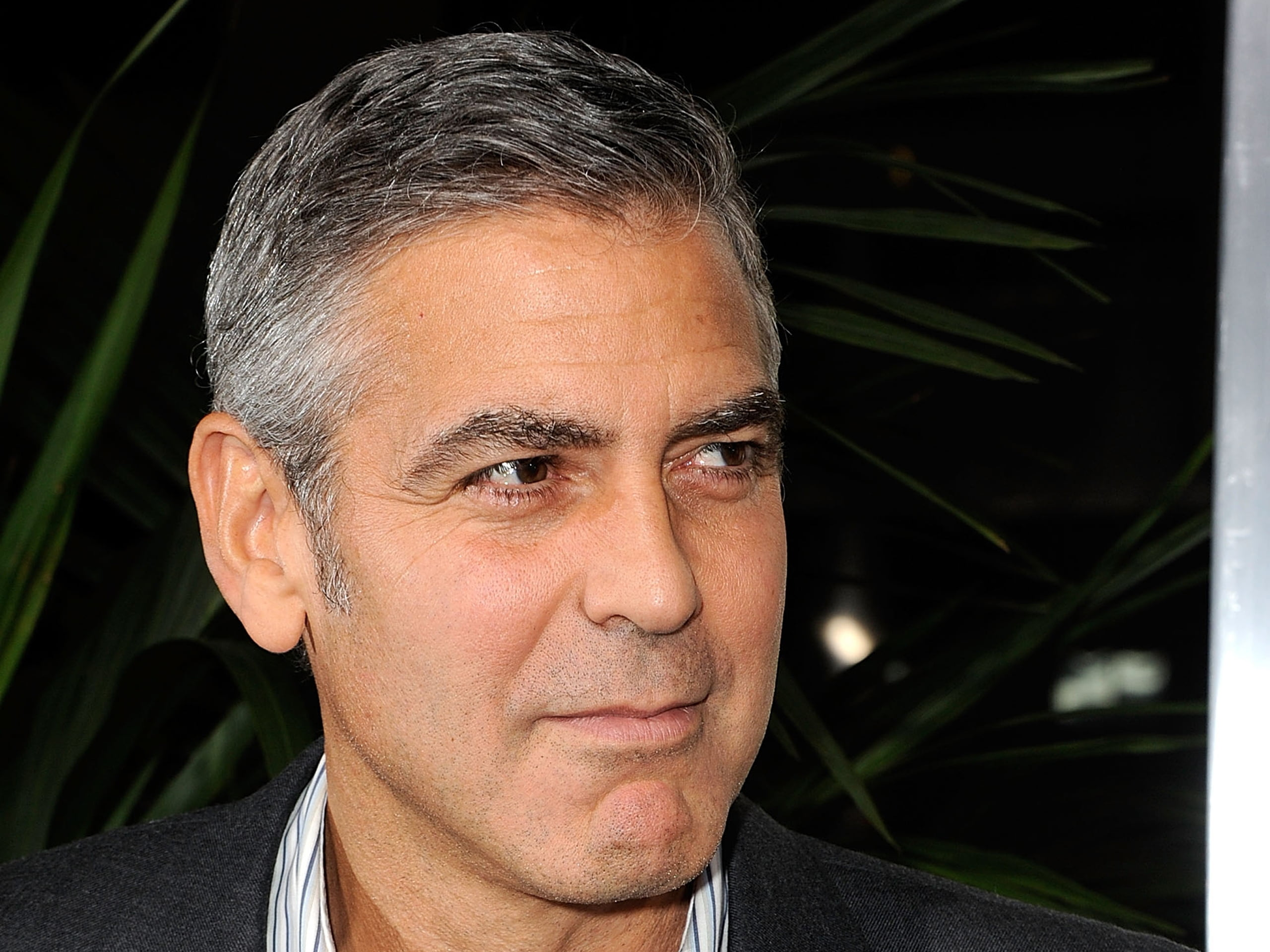 HD wallpaper George Clooney celebrity actor hollywood smile 2560x1920
