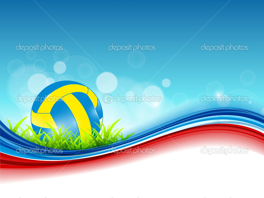 Volleyball Background Colorful volleyball ball 1023x767