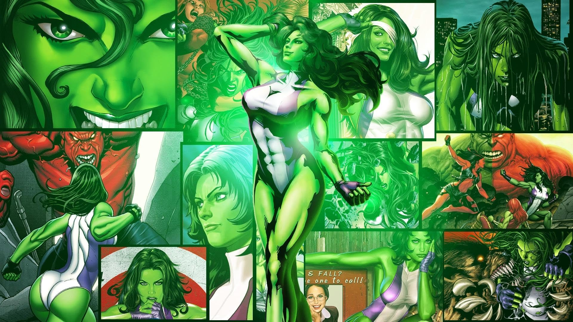 She Hulk Wallpapers 1920x1080