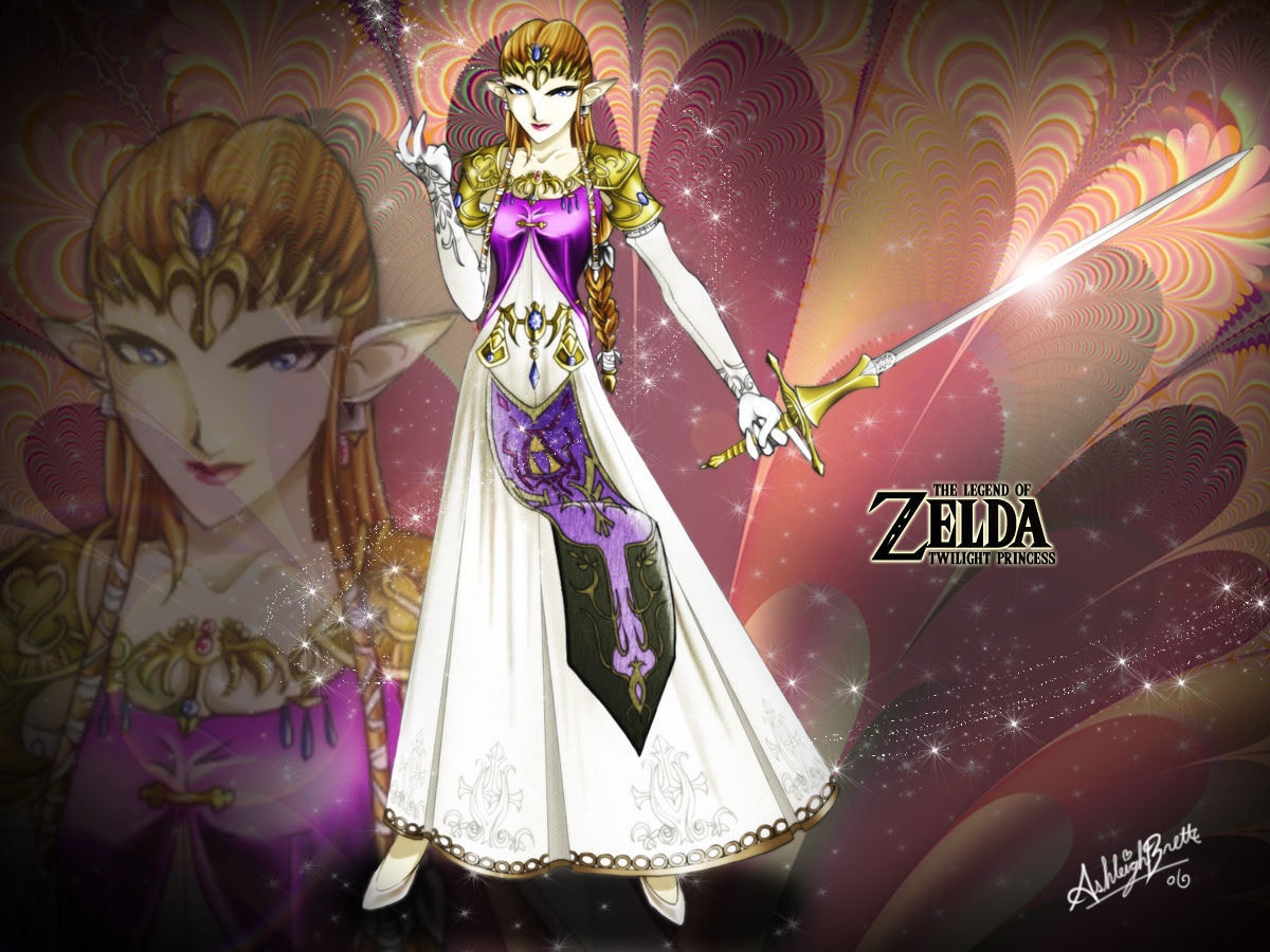 Twilight princess Zelda wallpaper   LOZONLINE 1200x900