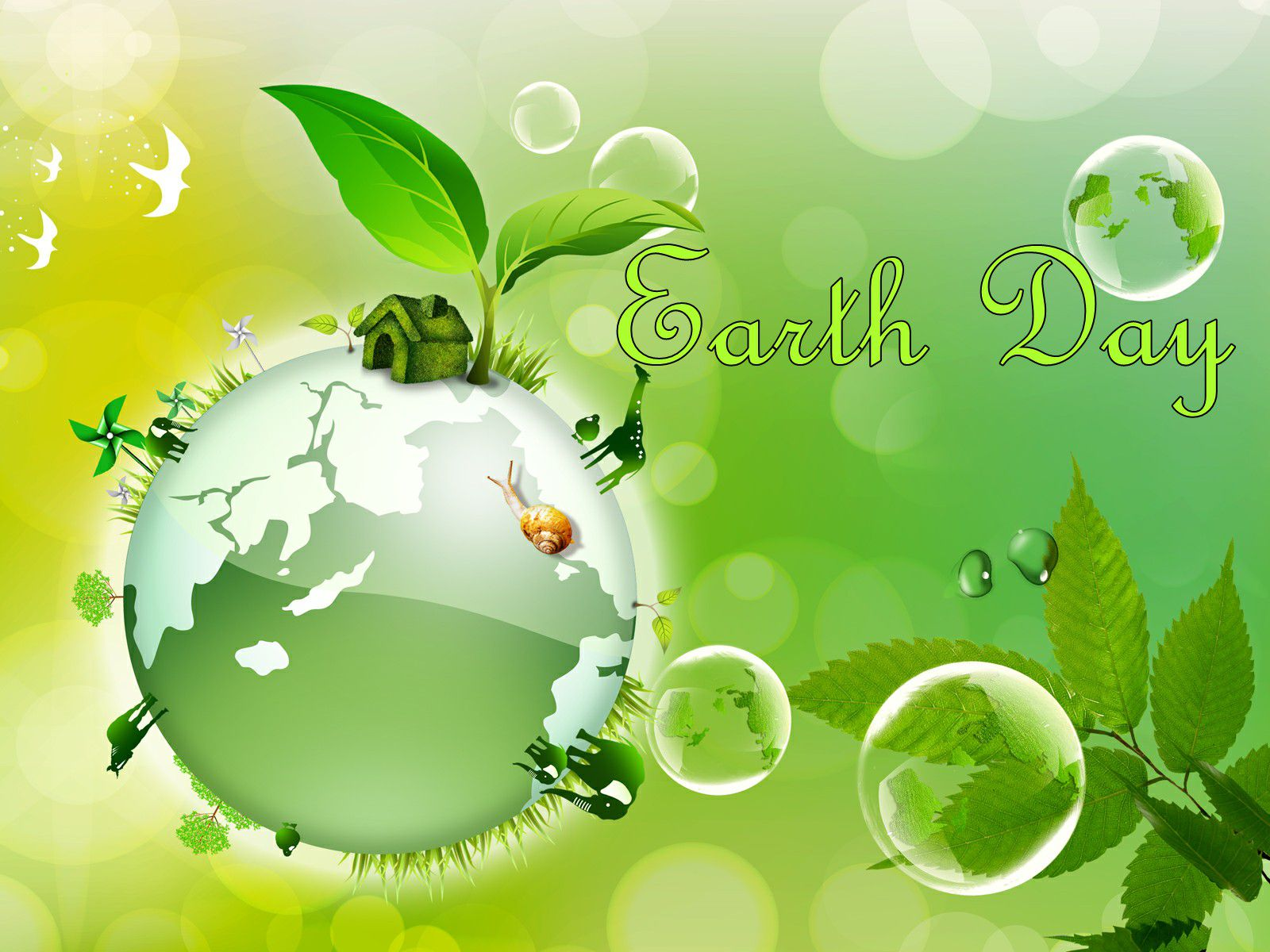 Happy Earth Day Images Hd Wallpaper 1600x1200