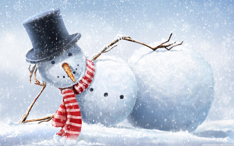 68 Snowman Desktop Wallpapers on WallpaperPlay 2880x1800