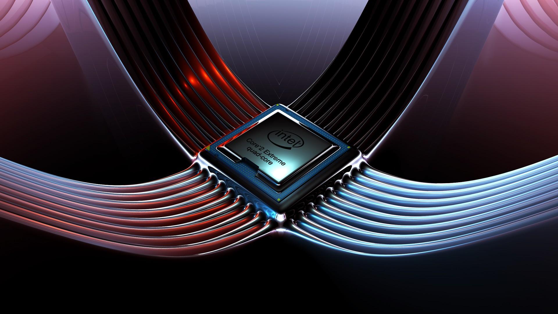 NobleWalls Intel core 2 quad desktop and mobile background 1920x1080