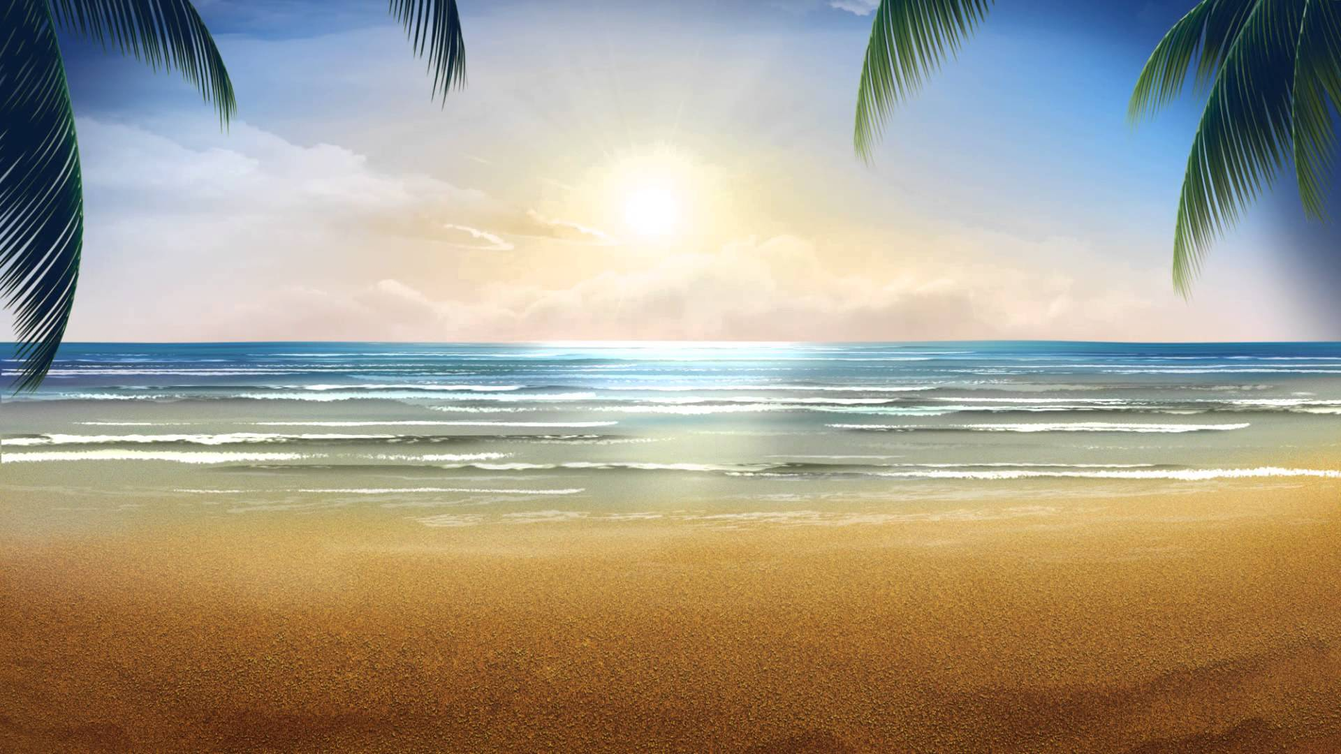 Video Background HD   Summer   Style Proshow 1920x1080