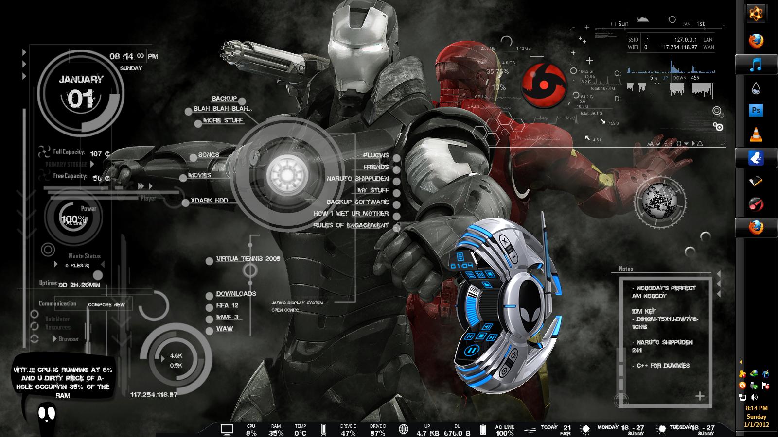 Animated 3d wallpaper jarvis interface - 3d Theme For Windows7 Rar Tatl Hayat Huzurevi Ve Bak Mevi