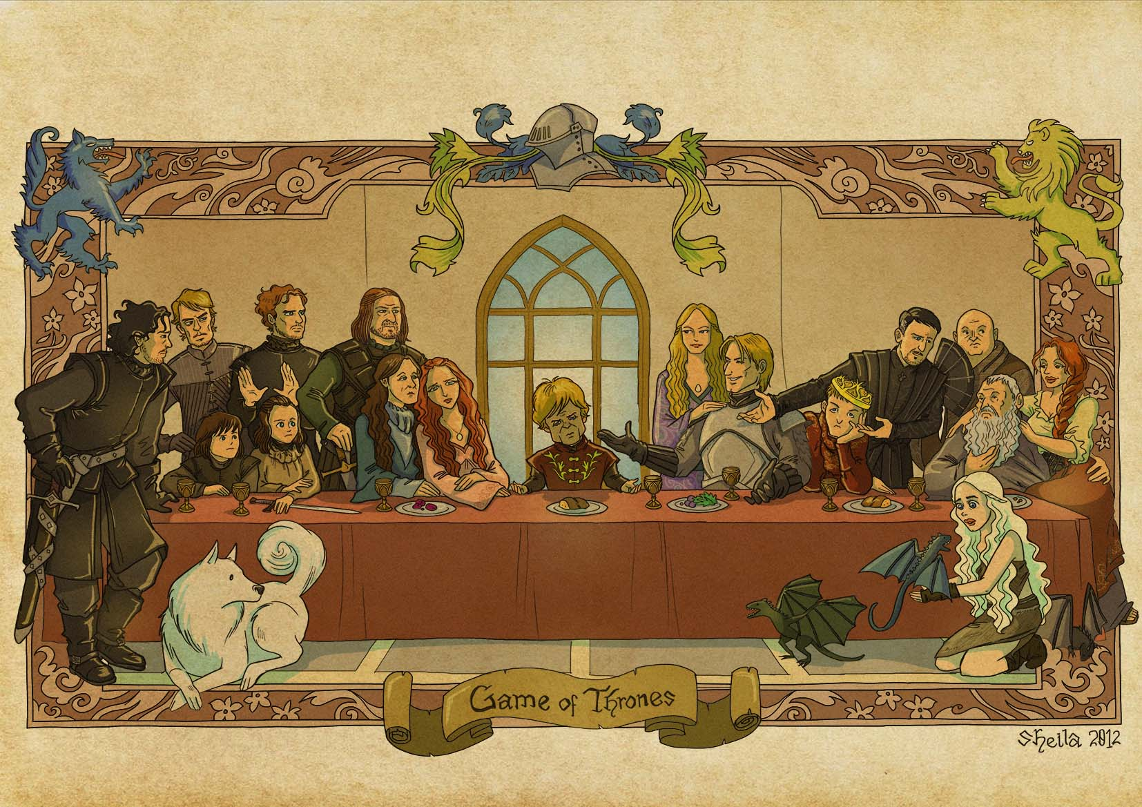 The Last Supper Wallpapers 1654x1169