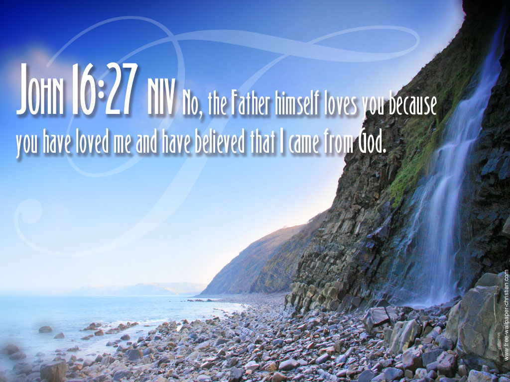 John 1627   The Father Loves You Wallpaper   Christian Wallpapers 1024x768