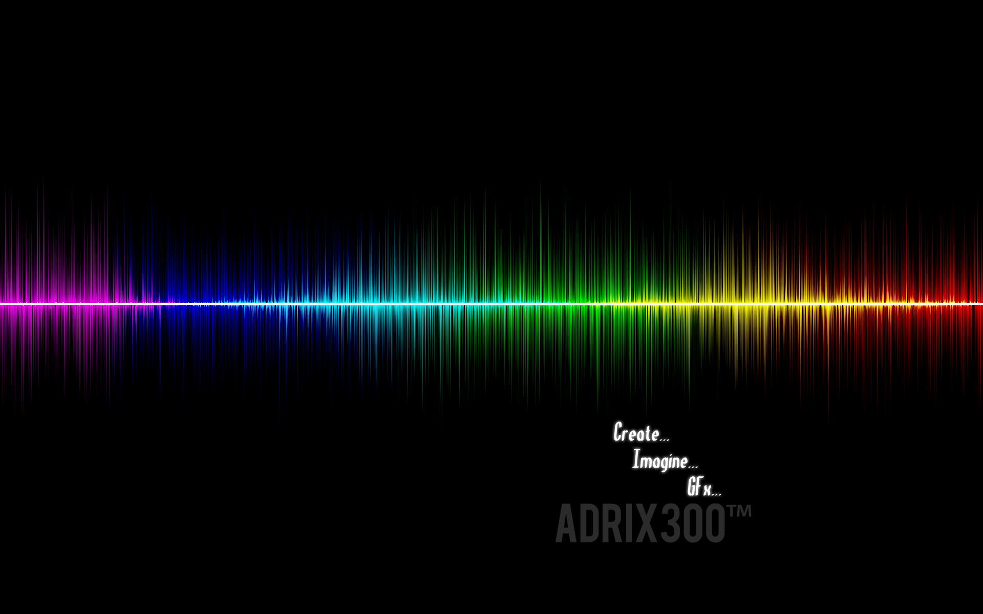 Audio Wave Wallpaper by GFxAdrixda 1920x1200