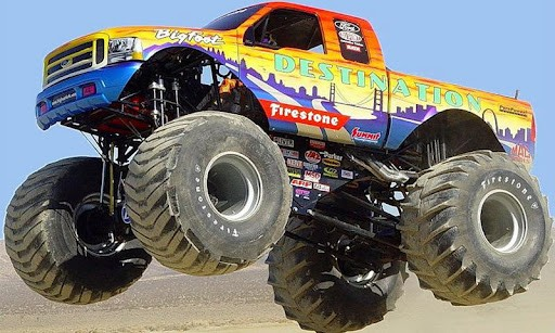 Bigfoot Monster Truck Wallpaper Monster truck hd wallpapers 512x307