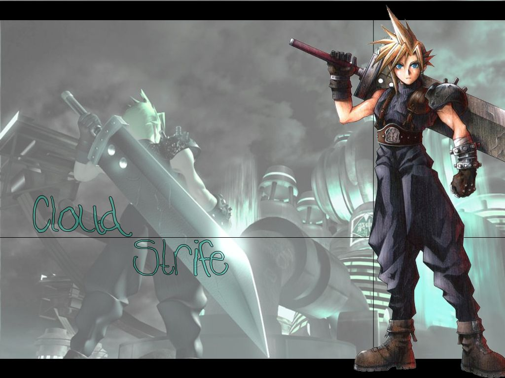 Final Fantasy 7 cloud wallpapers   W3 Directory Wallpapers 1024x768
