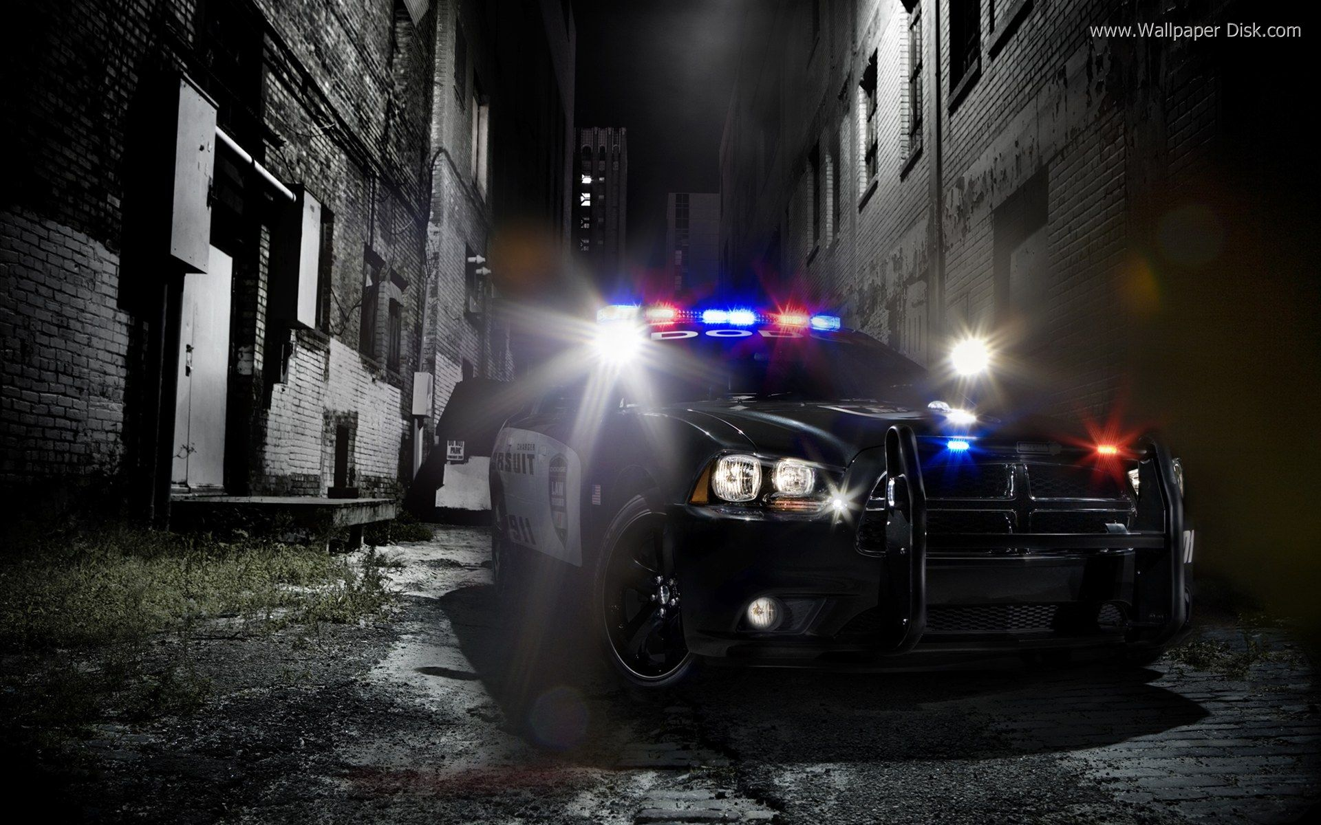 Best Police car desktop wallpapers background collection 1920x1200