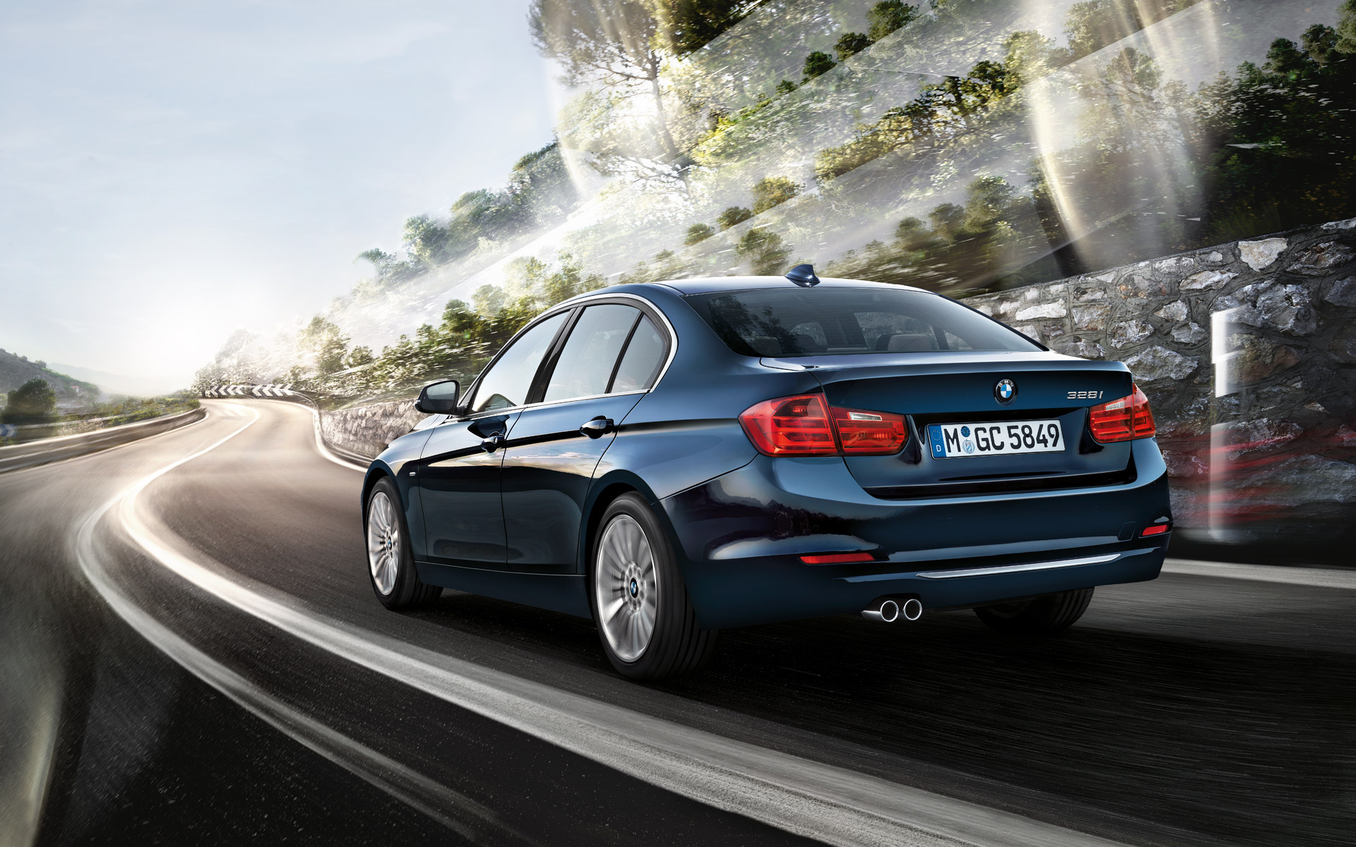 download BMW 3 Series F30 High Resolution Wallpaper Images 1920x1200