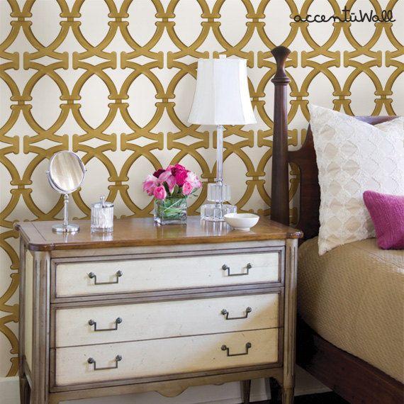 peel and stick wallpaper SImpleShapescom 570x570