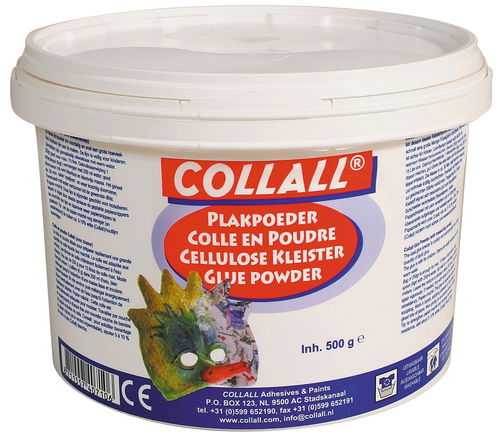 Wallpaper Glue Cellulose Based Collall 500G   Opitec 500x442