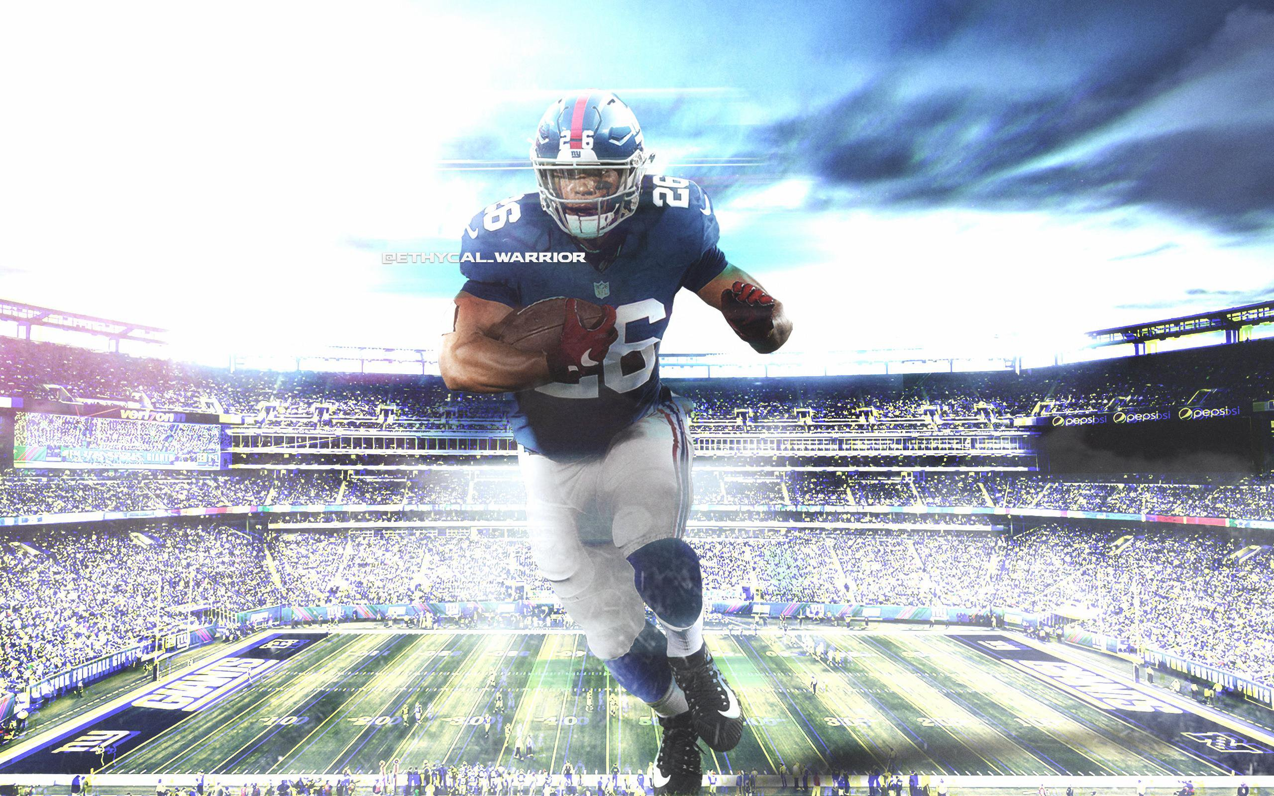 Saquon Barkley Top NFL Player Wallpaper for Phone and HD 2560x1600