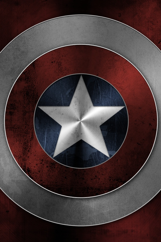 Captain America iPhone 6 Wallpaper 640x960