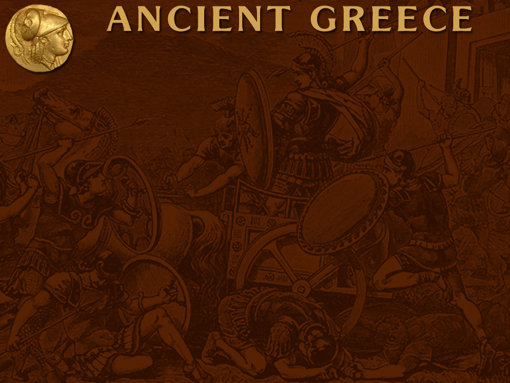ancient greece powerpoint template backgrounds for presentation 1024x768