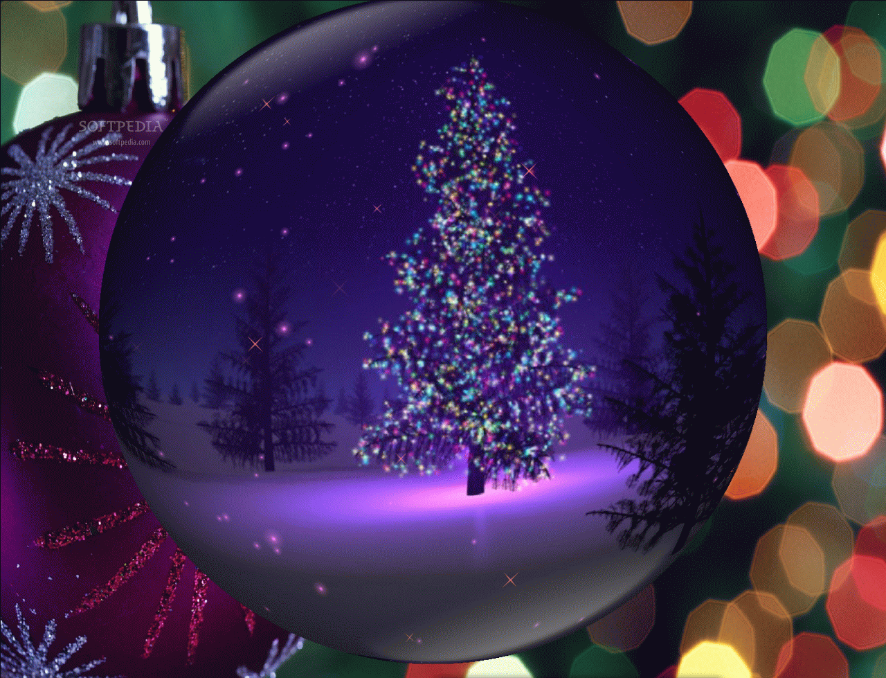 Christmas Globe Animated Wallpaper ng cc p n ging 1280x979
