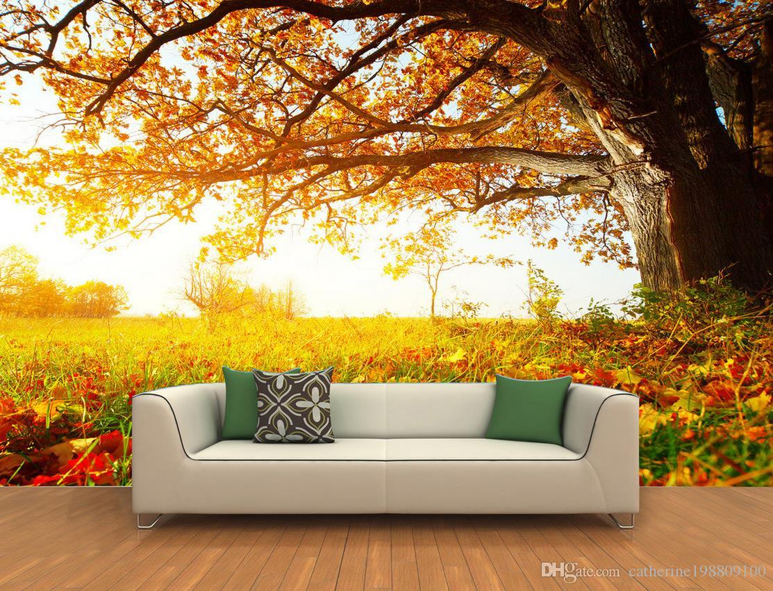 Custom Any Size 3D Autumn Leaves Maple Leaves Autumn Leaves 1113x851