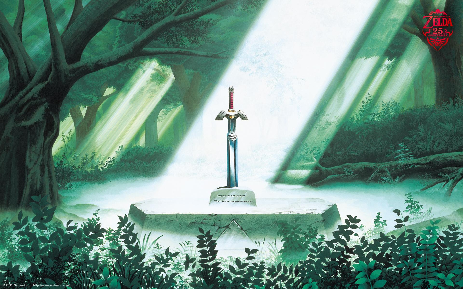 25th anniversary wallpapers   The Legend of Zelda Wallpaper 24924894 1920x1200
