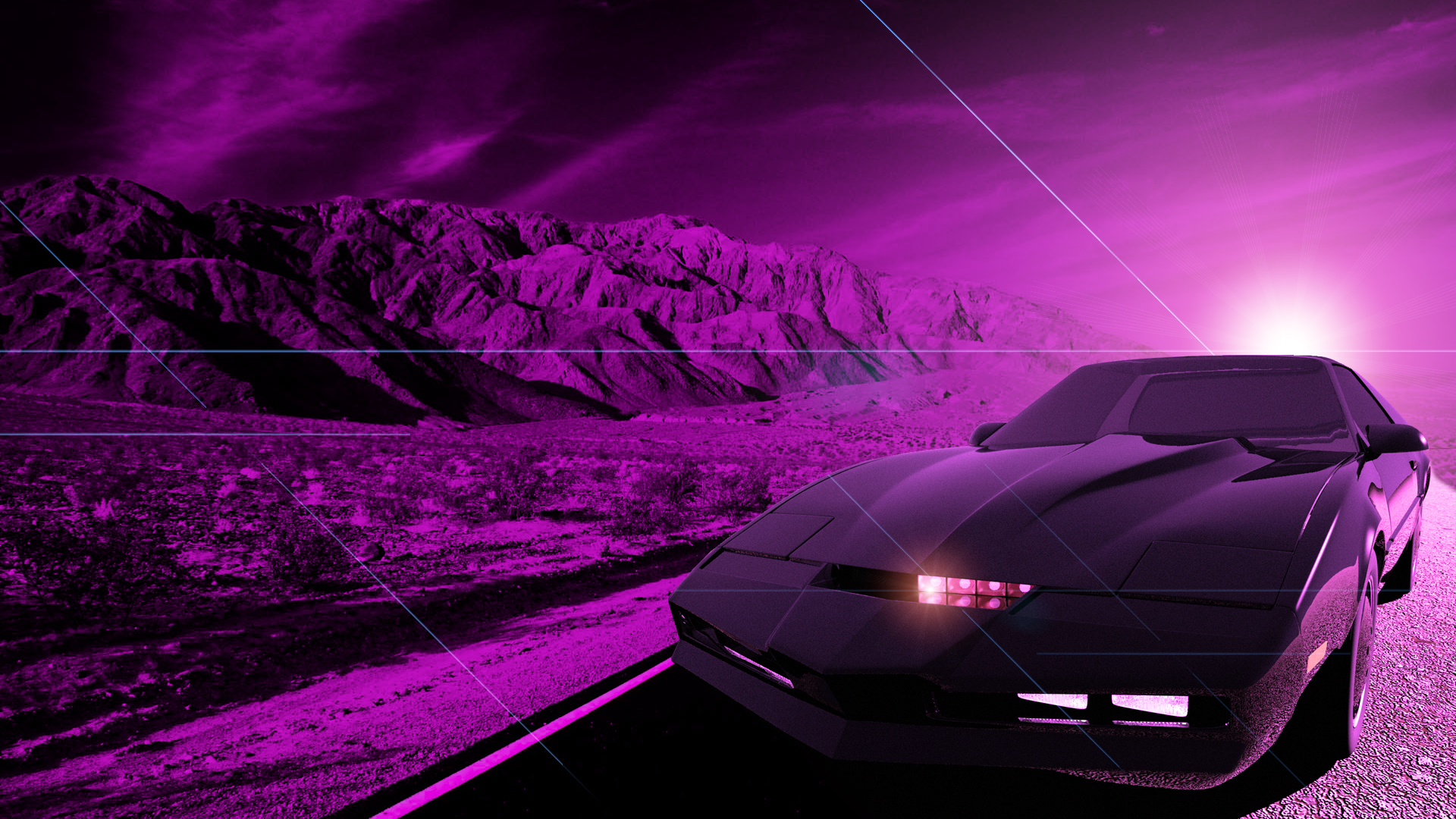 Knight Rider by come2eat 1920x1080